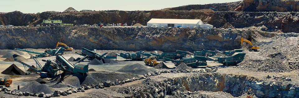 Powerscreen WDC-2012: Portland Quarry, South Africa
