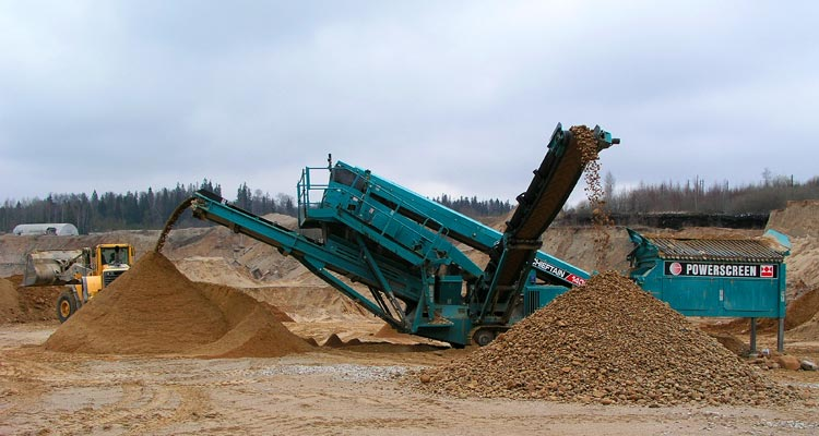 Powerscreen Chieftain 1400 Track