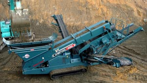Powerscreen Chieftain 400 Track