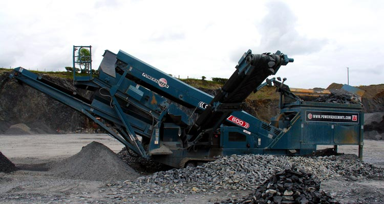 Powerscreen Chieftain 600 Track