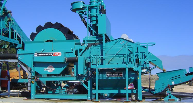Powerscreen Finesmaster 120