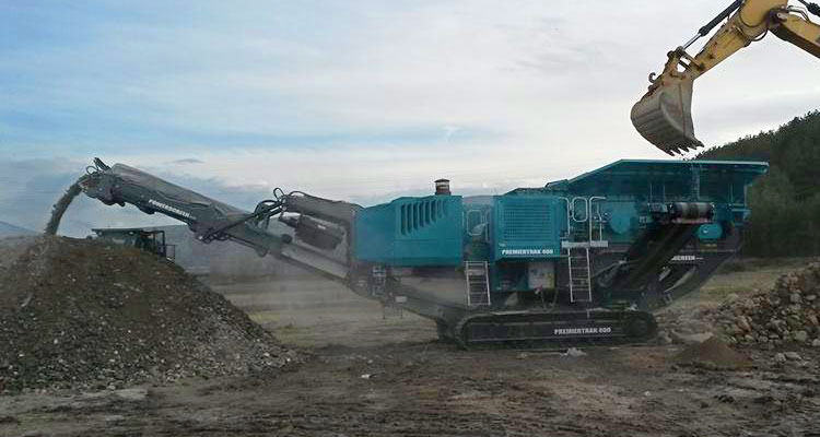 Powerscreen Premiertrak 400 Pre-Screen